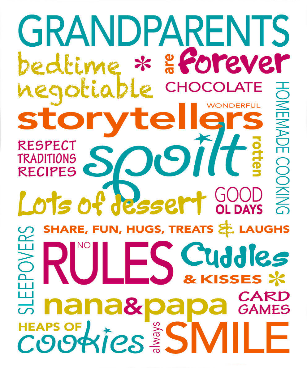 Grandparent Poems Grandma, Grandad, Nan and Pop Verses
