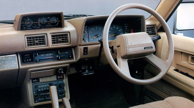 1986 Toyota Hilux Surf Cars