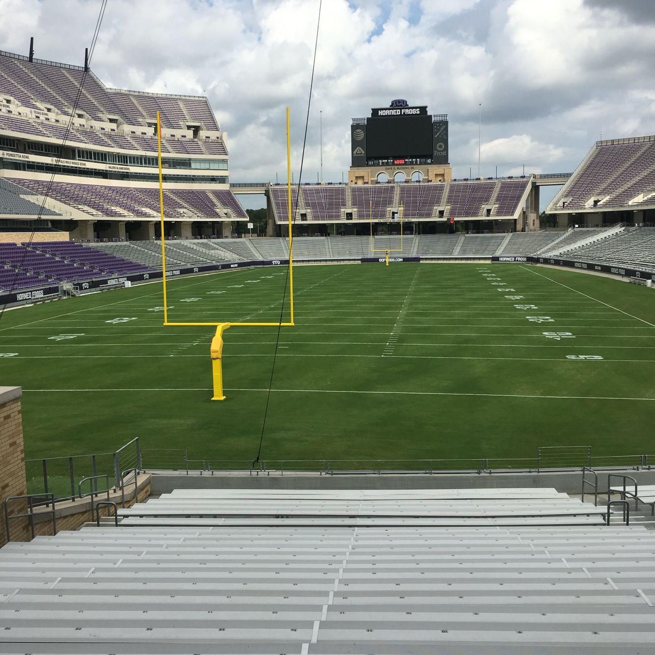 TCU football stadium Tcu football, Football stadiums