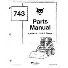 bobcat 743 skid steer loader parts manual pdf bobcat743 rh pinterest com Bobcat 743B Specs Bobcat 743B Hydrostatic Motor
