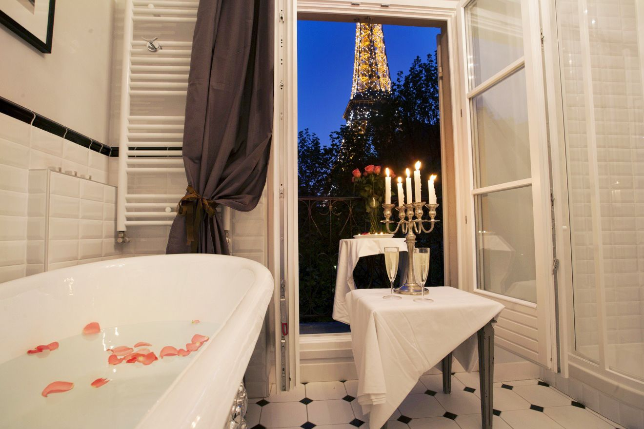 to the Chambertin, a dreamy Parisian one bedroom