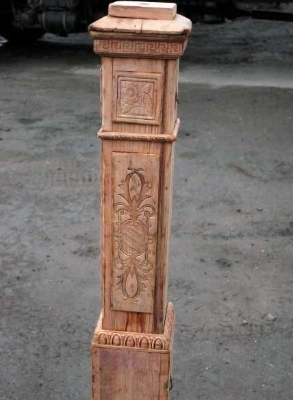 Carved Victorian Newel Post Architectural Antiques Architectural Salvage Newel Posts
