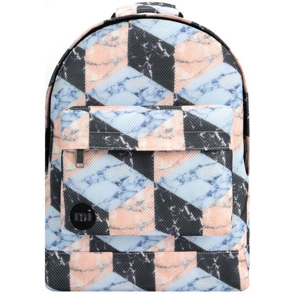 Mi Pac Mesh Marbles Backpack 40 Liked On Polyvore Featuring
