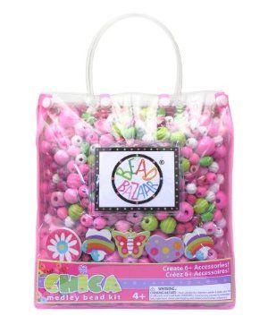 Bead Bazaar Chica Medley Bead Kit Pink