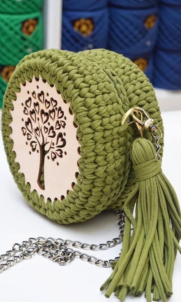 48 ideas creativas de patrones de bolsos de ganchillo gratis para este año - Página 27 de 48 - Blog de mujeres de ganchillo