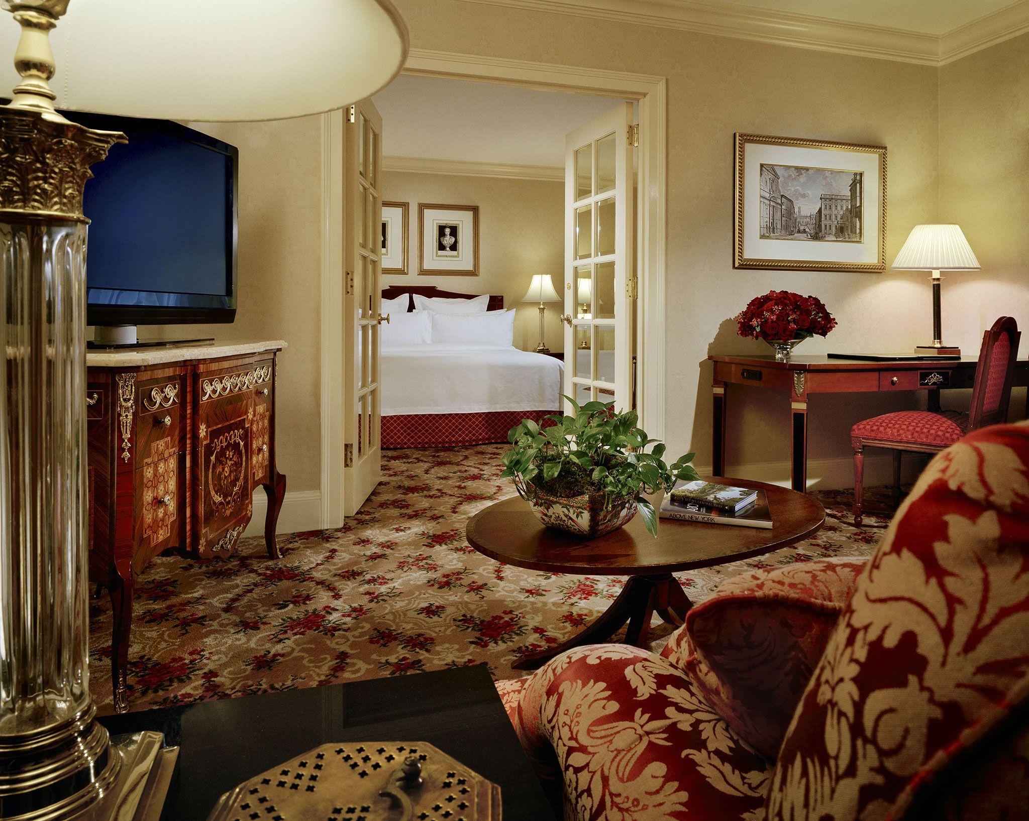Waldorf Astoria Nyc Hotel Suite Astoria New York New York Hotels
