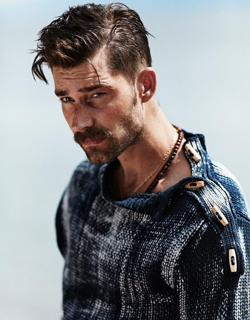 Viking haircut styles fisherman blues  chris brown for m magazine fall   toggle