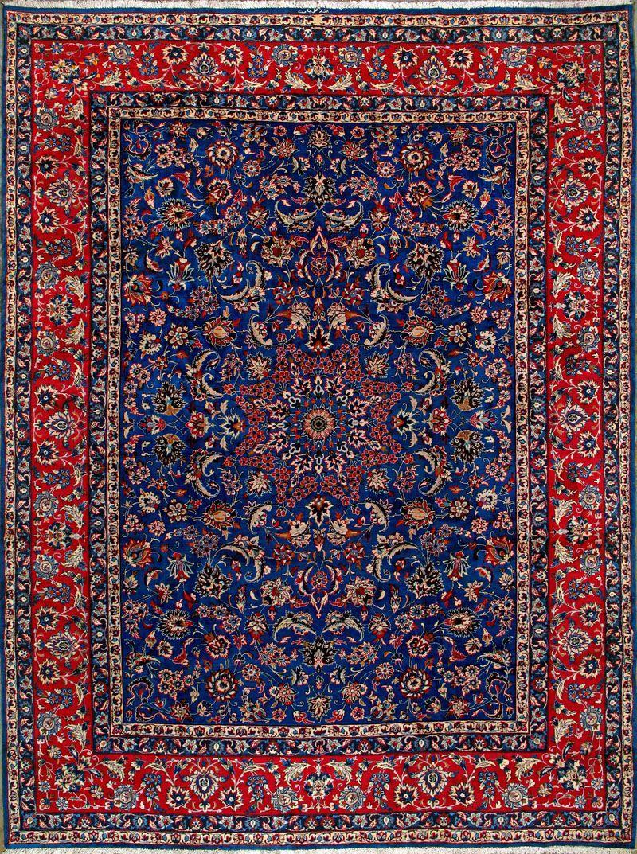 Buy Yazd Persian Rug 9 8 X 13 1 Authentic Yazd Handmade Rug Persianrugs Red Oriental Rug Rugs Persian Rug