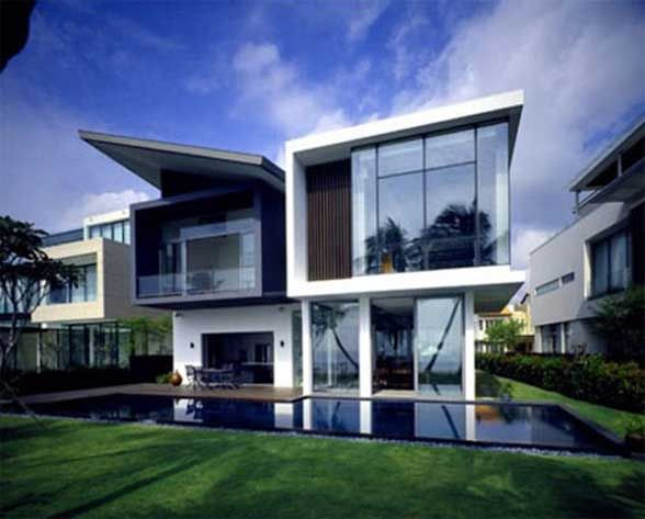 Images of modern residential houses