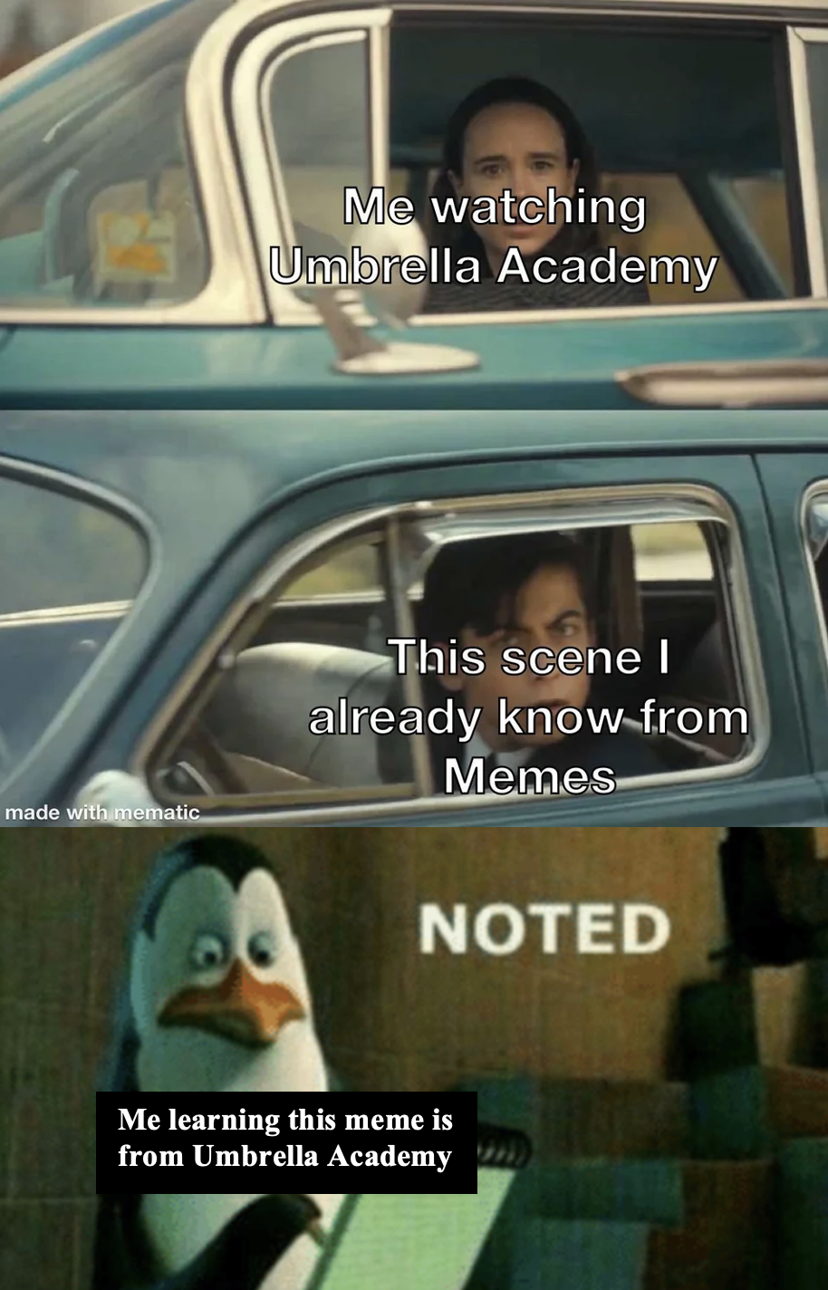 Now if I could just figure out where this penguin'