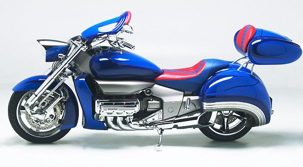 Honda Rune Saddlebags