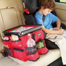 I need to organize my backseat... this JUST might work... if it were smaller? or in the trunk?
