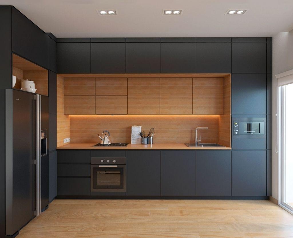 Image Result For Arredo Cucina Con Penisola Legno Modern Kitchen