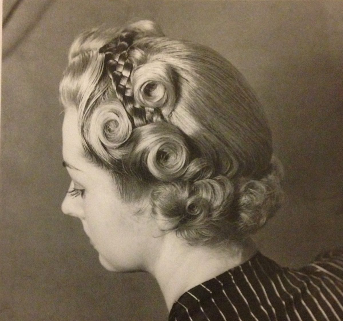 the military braid hairstyle, 1940s | hair in 2019 | hair