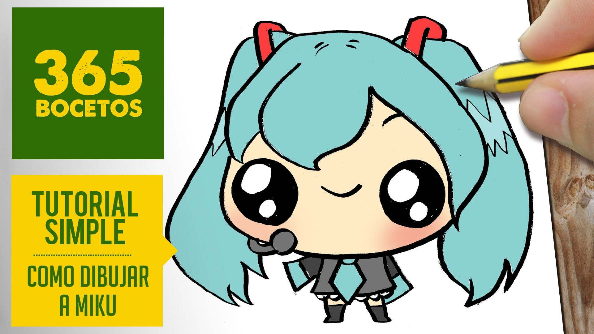 Miku Anime Con Imagenes Dibujos Kawaii Bocetos De