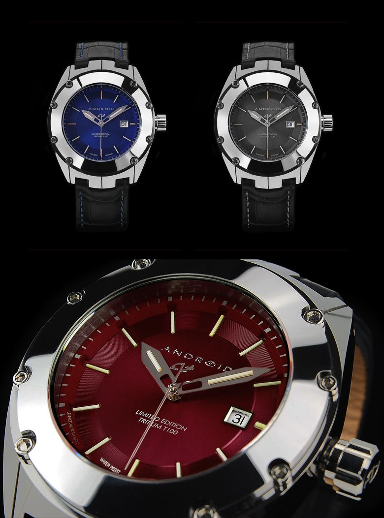 622957 android men 39 s virtuoso t100 le swiss automatic tungsten new watches pinterest for Android watches