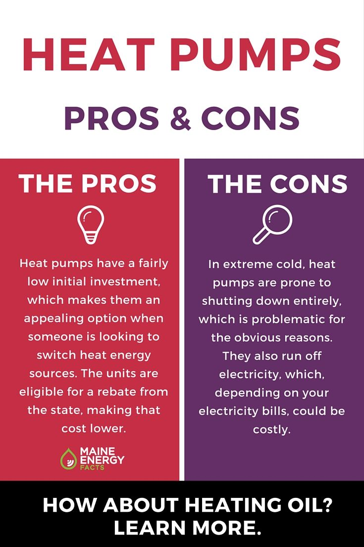 Pros And Cons Of Heat Pumps Learn More About Heating Oil And