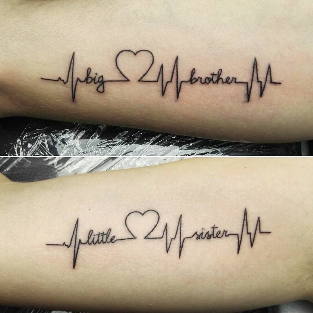 Iets Nieuws 17 Brother-Sister Tattoos That Exemplify Sibling Bonds : theBERRY @QC54