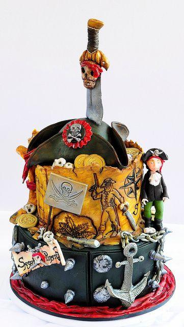 Pirating #cake