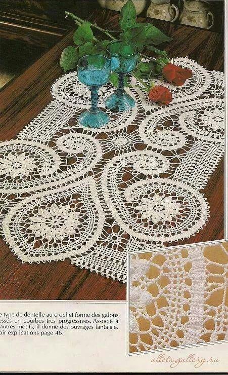 Pin von Lúcia Maria de Lima Pinto auf Crochê 7 | Pinterest ...