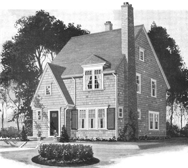 Pictures Of English Cottages From The 1920 S With Attached: Catalog Houses From The 1920S