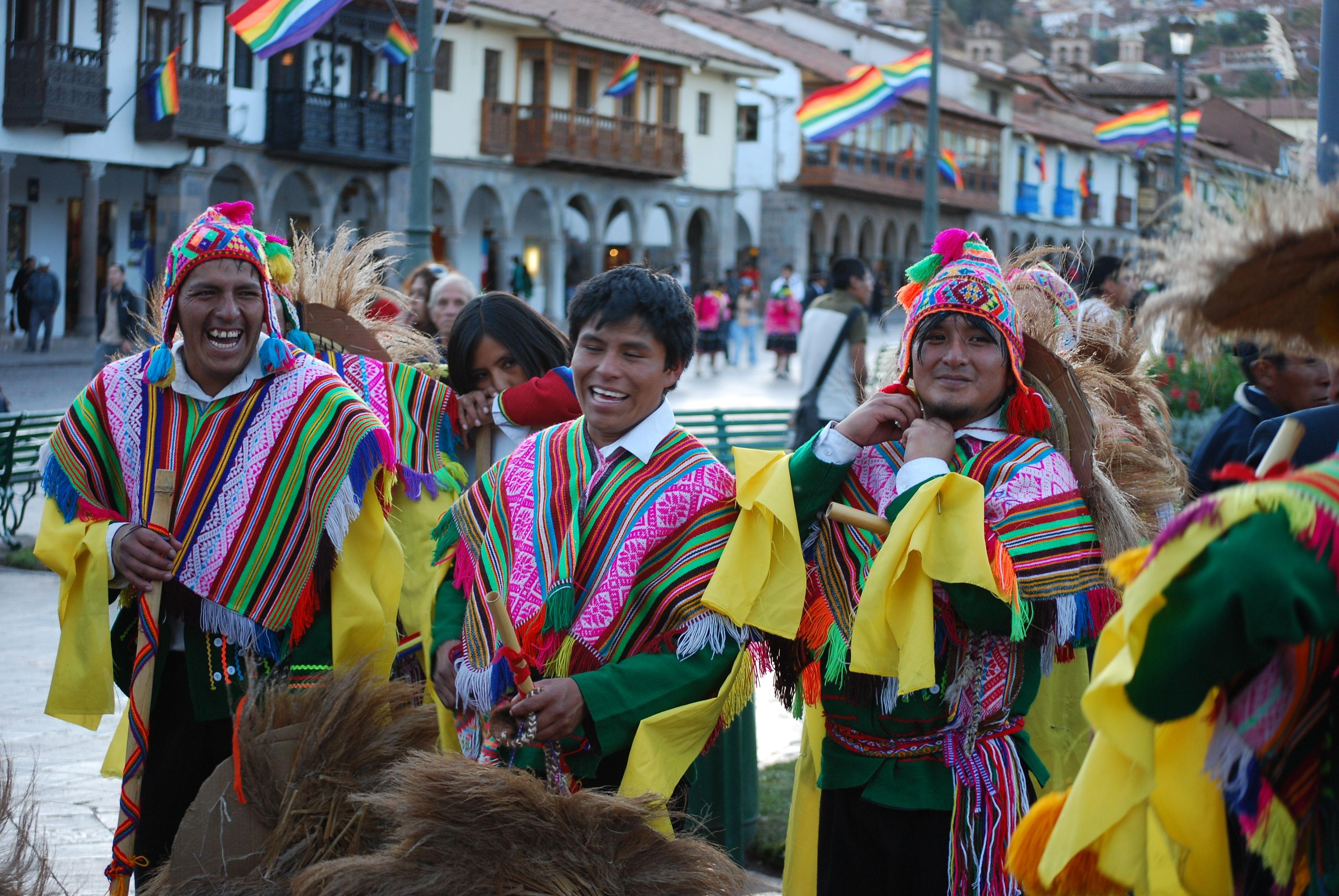 Cuzco Days parade participants, Peru