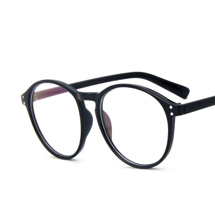 Classic Big Frame Eye Glasses for Women Fashion Vintage Clear Lens ...