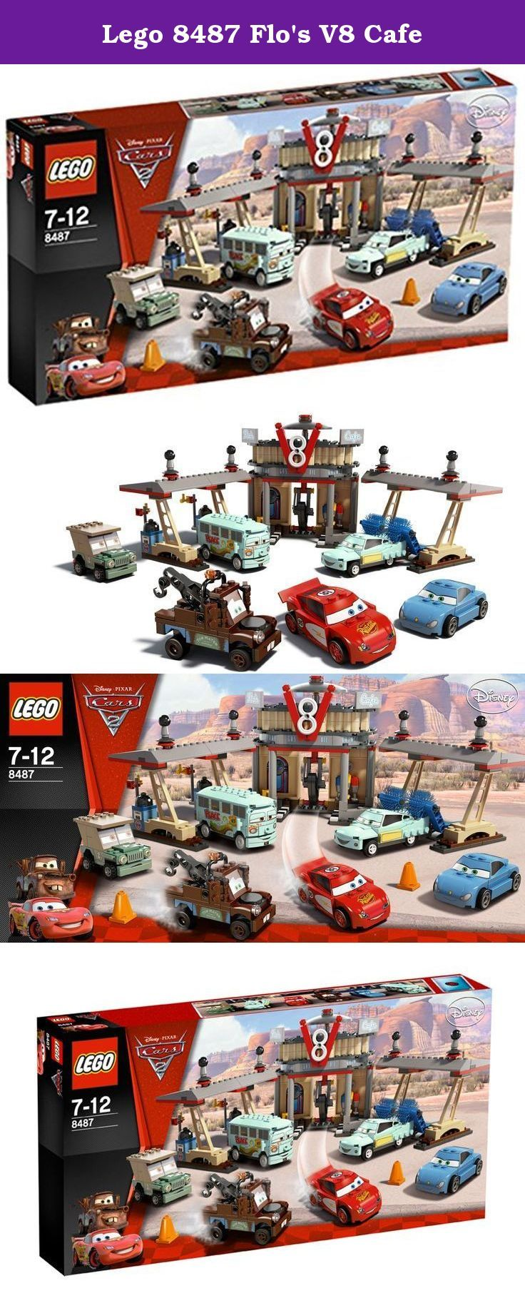 Lego 8487 Flos V8 Cafe Recreate All The Thrills Of The Cars