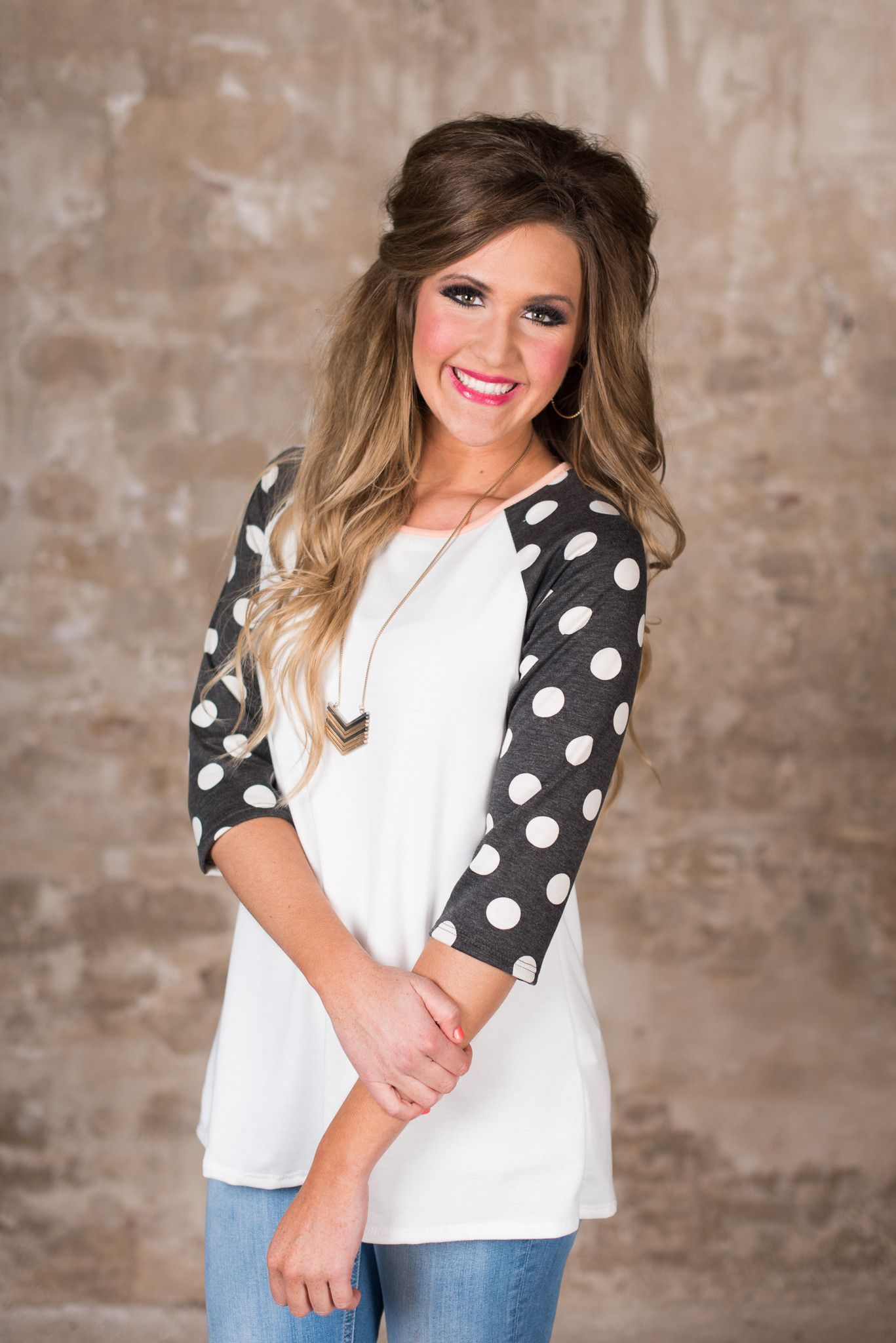 0a18dbbe847cd The Eloise Top - Ivory Black Glamour Farms