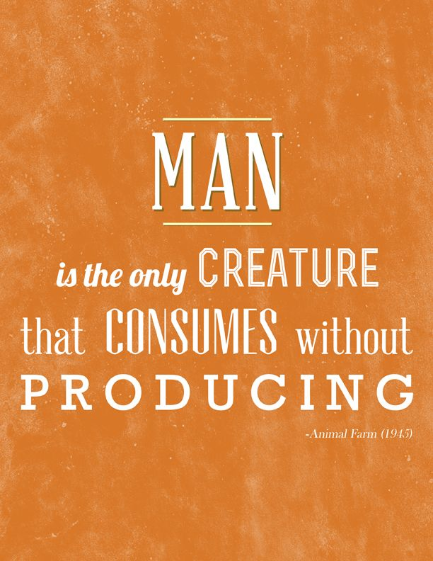 Animal Farm Quotes Magnificent George Orwell's Animal Farm  Books  Pinterest  Farming Animal