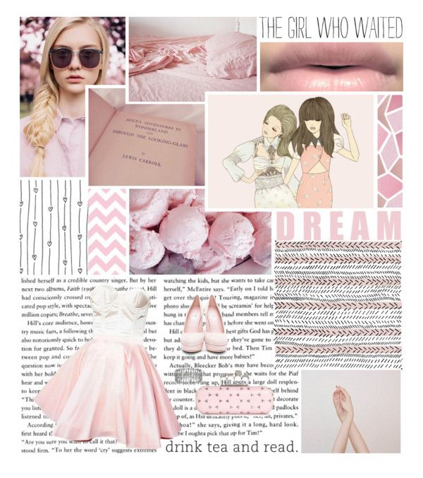"""Pastel Pink"" by avrilrocks2000 ❤ liked on Polyvore"