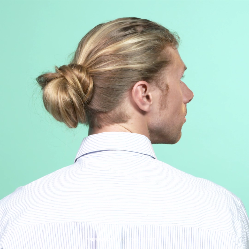 How To The Perfect Messy Low Bun Video Hair Hair