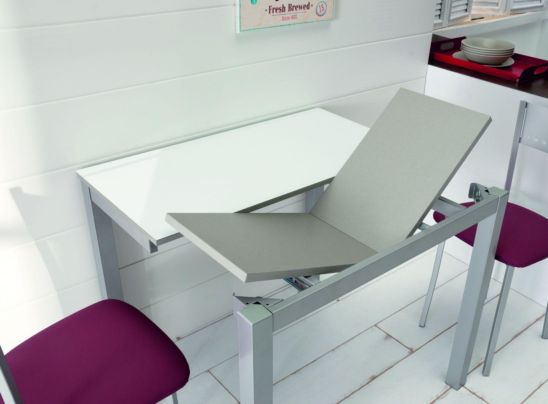 Mesa zafira extensible mesas de dise o mesas mesas for Mesas y sillas de cocina de diseno