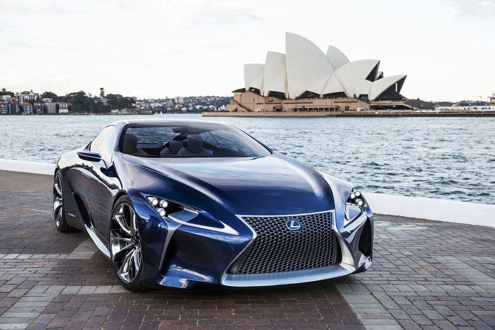 Lexus LF-LC Blue Hybrid