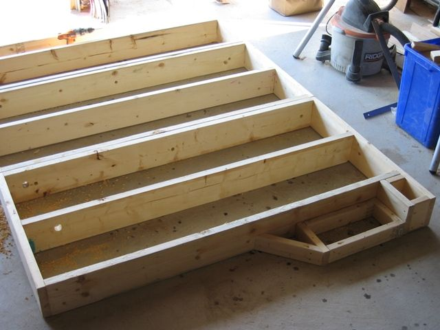 how to build risers for home theater