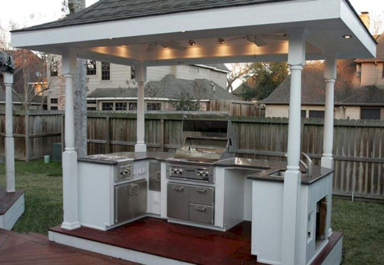 15 cute small outdoor kitchen ideas to make it work in