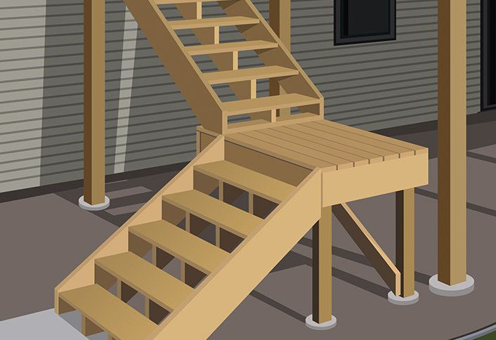 Install post anchors build raised deck outdoor projects build a single level raised deck explained this home depot guide explains how to build a single level raised deck for outdoor entertaining and outdoor malvernweather Choice Image