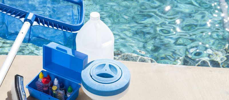 4 Pool Supplies Every Pool Owner Should Have Waters Choice Blog Swimming Pool Water Salt Water Pool Maintenance Swimming Pool Chemicals