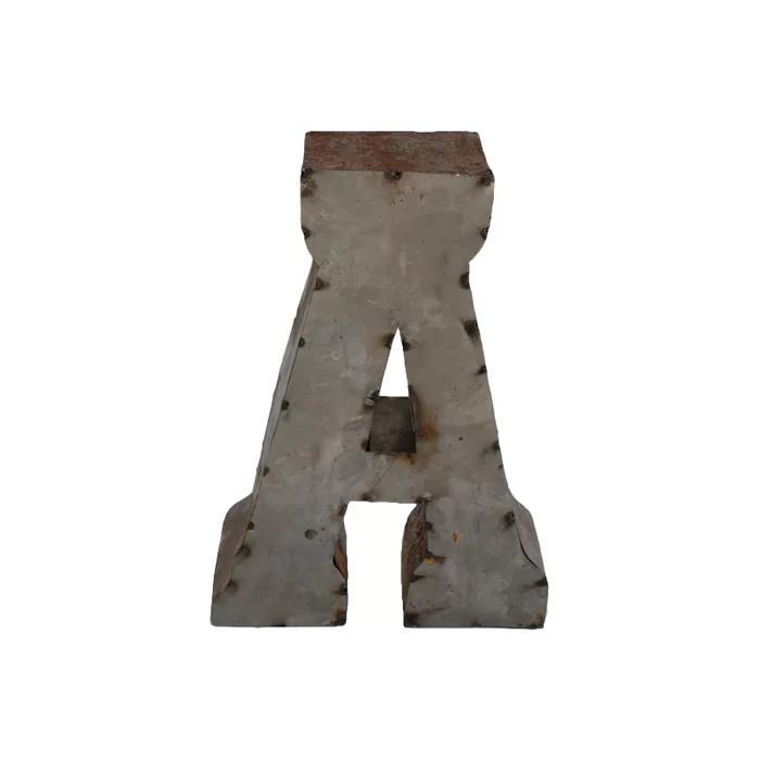 Letter Block Letter Blocks Decor Metal Letters Block
