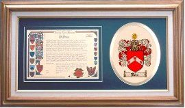 $109.99 Kerr Family Name History and Coat of Arms / Family Crest