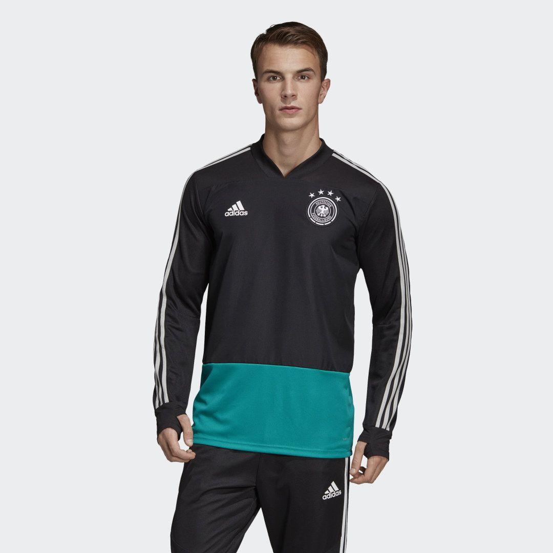 adidas DFB Trainingsoberteil - Schwarz | adidas Deutschland