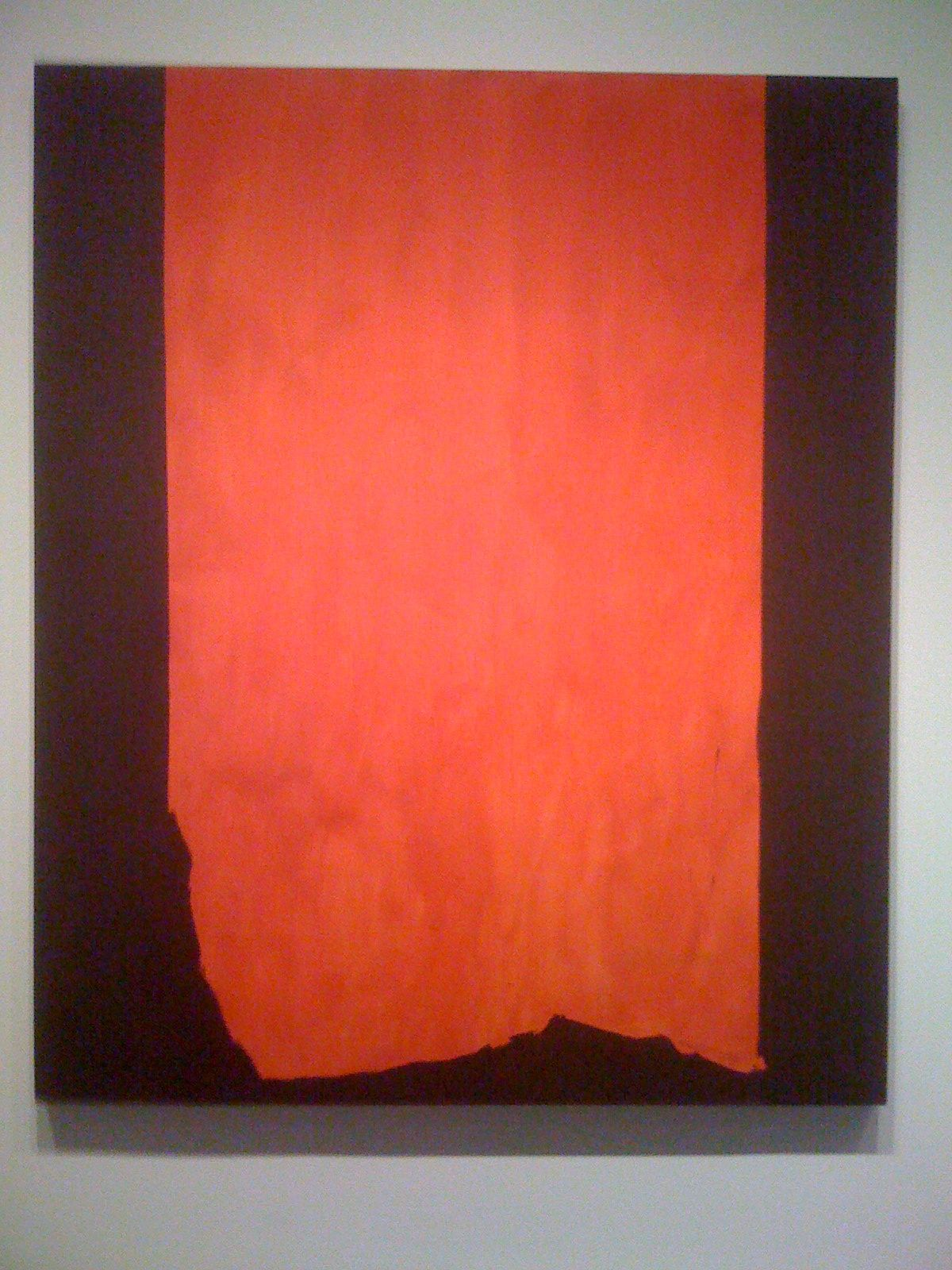 My Pic Of Achilles Barnett Newman National Gallery In Dc