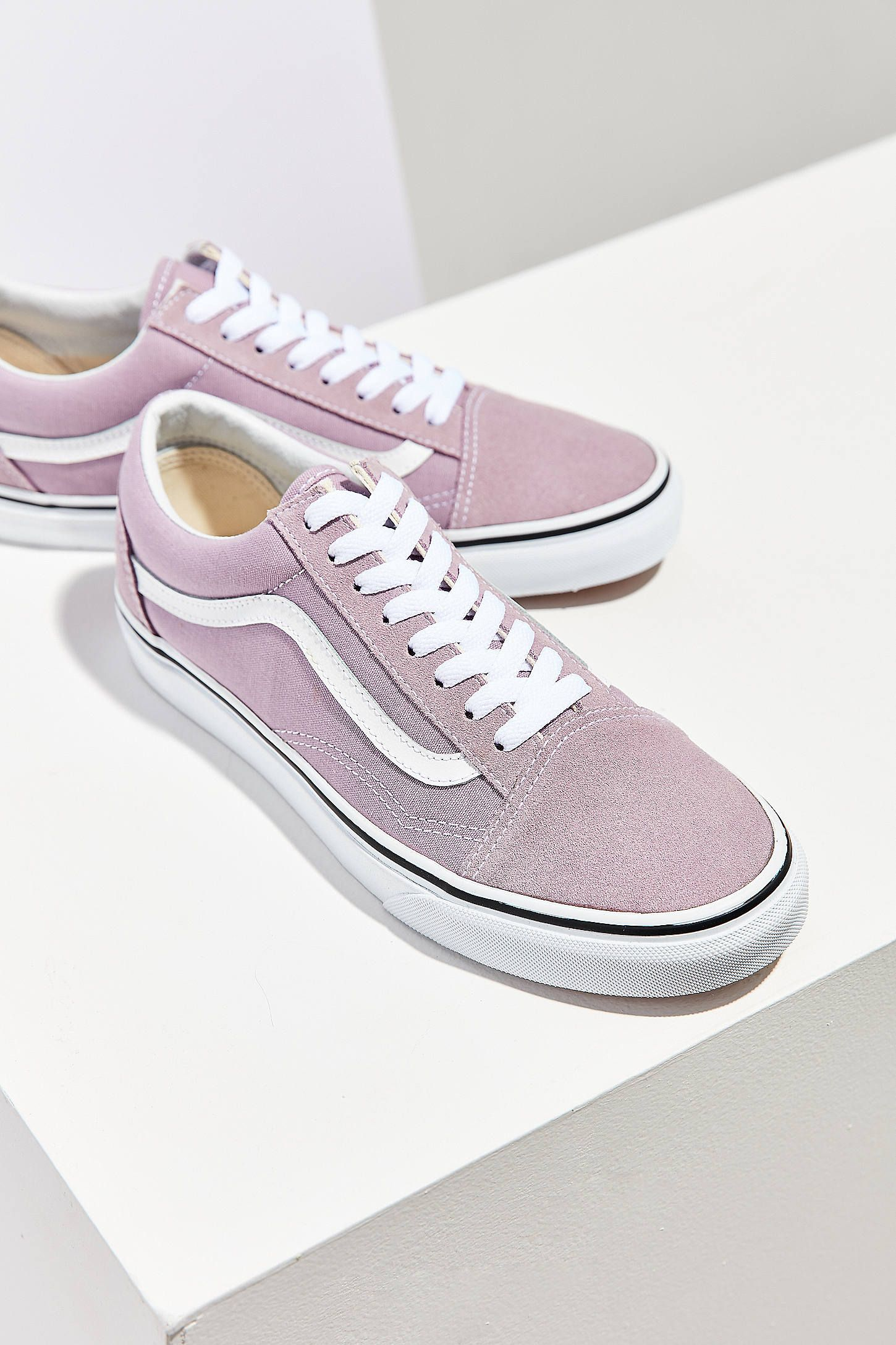 new style 667a6 cc96b Slide View  2  Vans Lilac Old Skool Sneaker