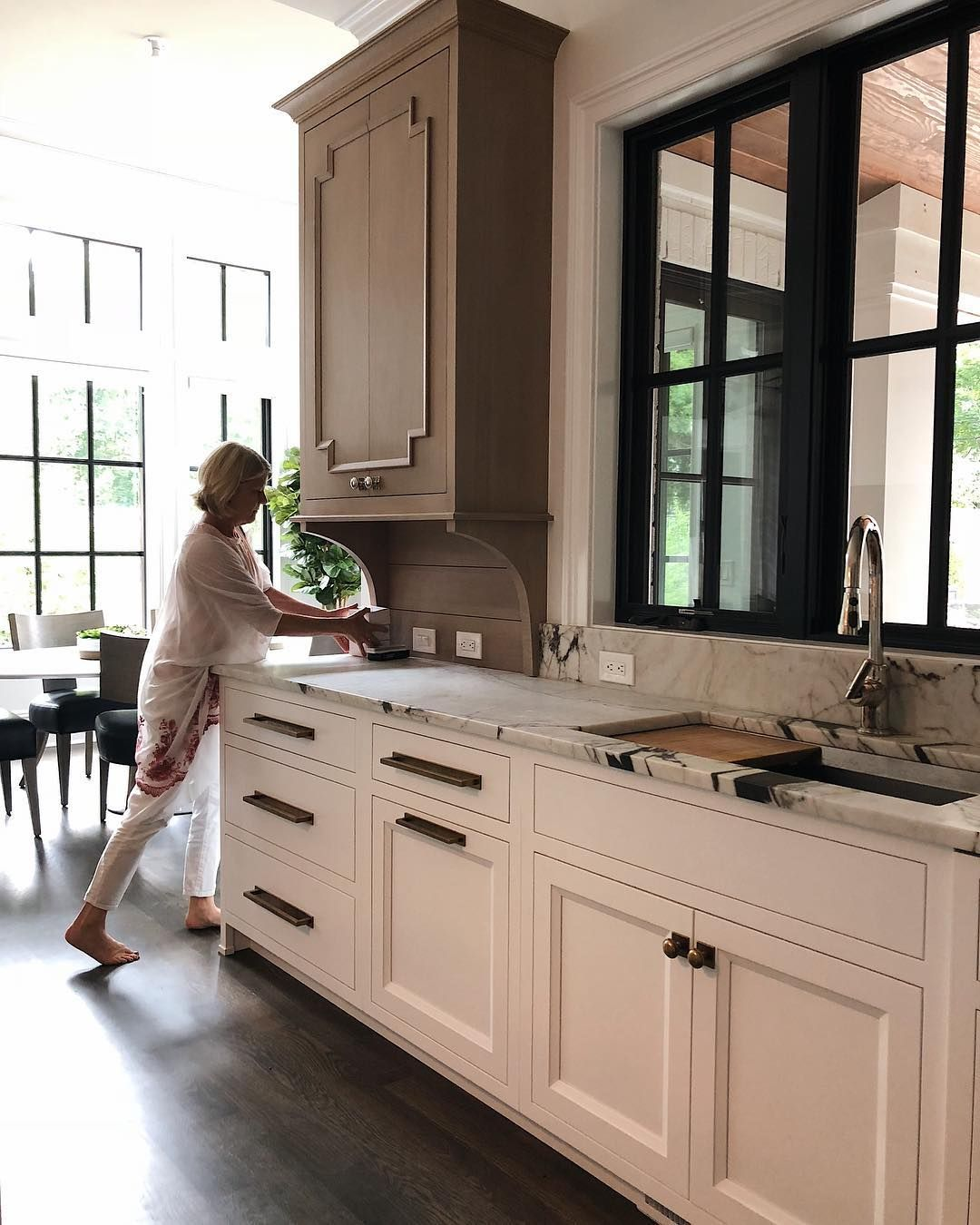 Jean Stoffer On Instagram We Are Pretty Excited About The Kitchen In Our Ann Arbor Mi Project W Cabinet Door Styles Kitchen Renovation White Modern Kitchen
