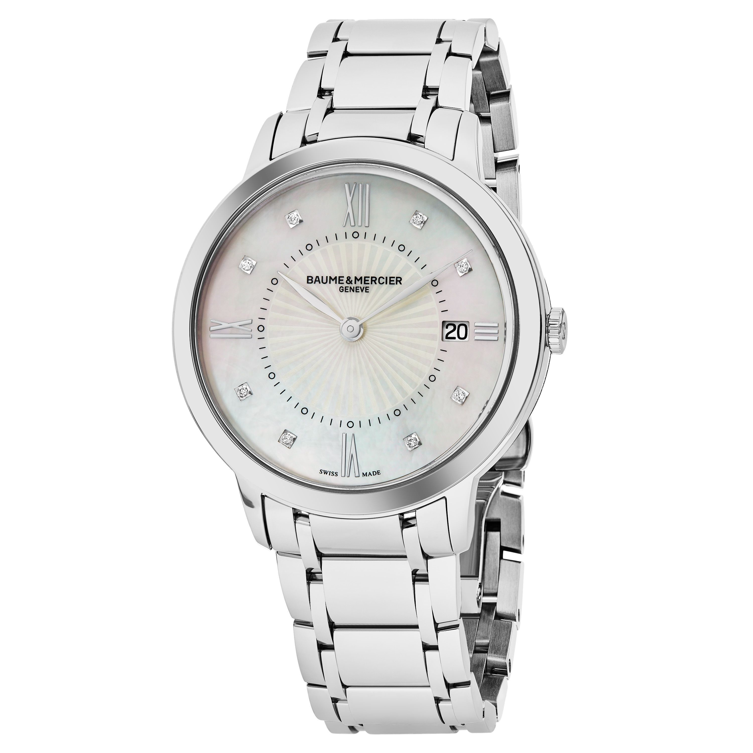 9c88876bc3d45a Baume Mercier Women's MOA10225 'Classima' Dial Swiss Quartz Watch ...