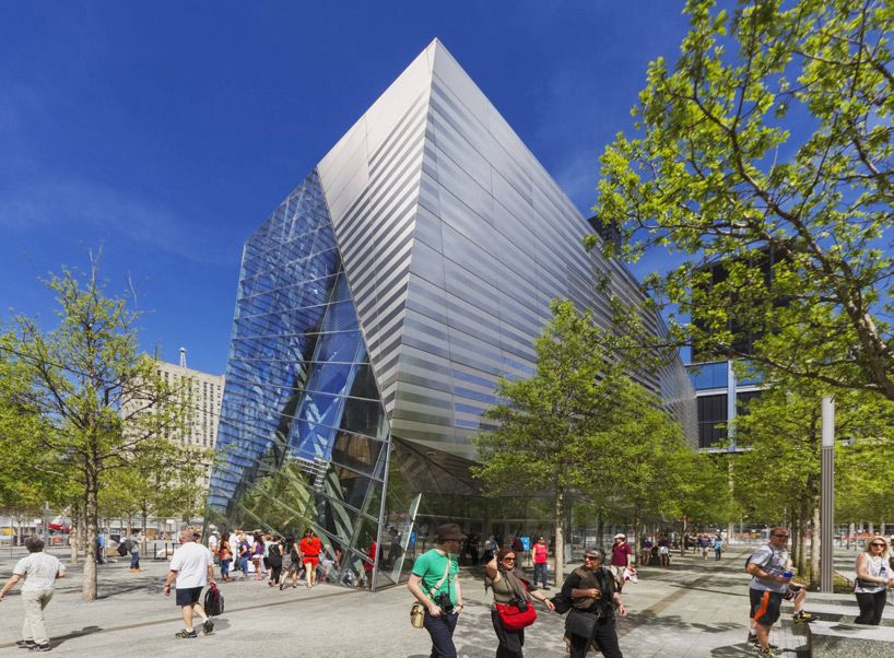 9/11 memorial pavilion by snohetta opens at ground zero