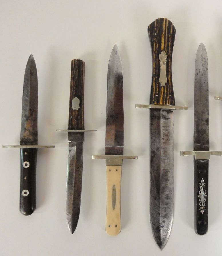 Antique Dagger Bowie Knife Collection