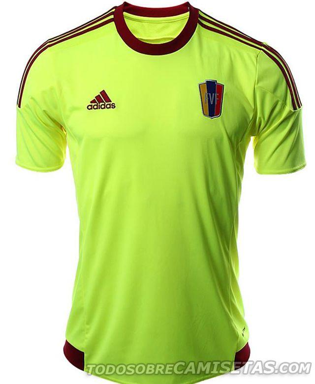 c621153ef9657 MÁS FOTOS  Camisetas Adidas de Venezuela para la Copa América 2015 ...