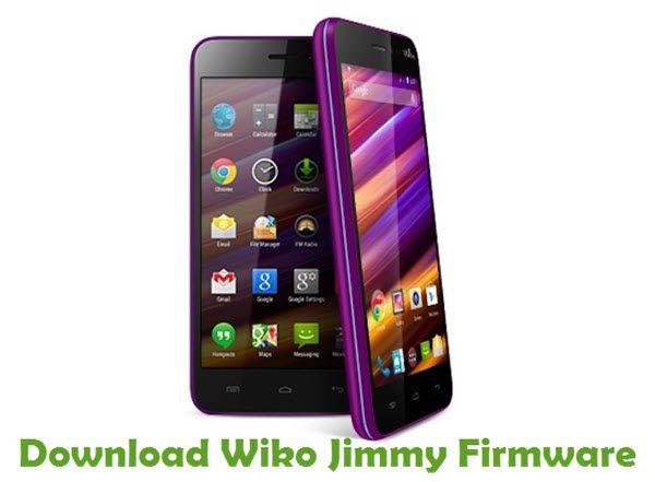 Wiko Jimmy Firmware | Wiko Stock ROM | Smartphone news