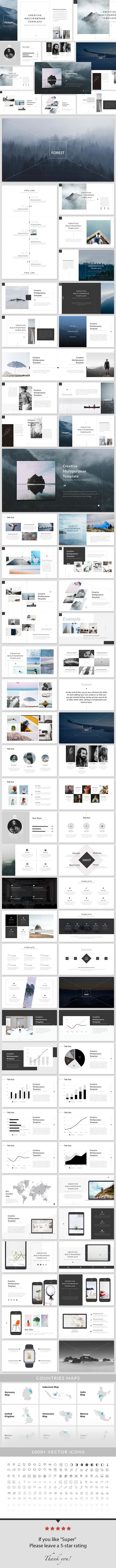 Create powerpoint template create powerpoint template creative forest powerpoint presentation template toneelgroepblik Gallery